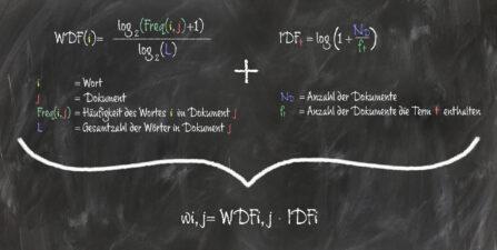 WDF-IDF einfach erklärt - WDF-IDF-Analyse