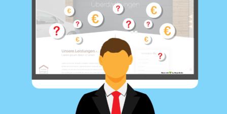 wie viel Geld kostet eine Website