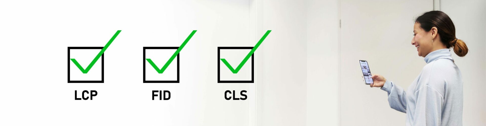 LCP FID CLS verbessern User Experience